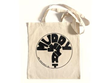 "Tasche Jutebeutel - Muddy What? ""Logo"""